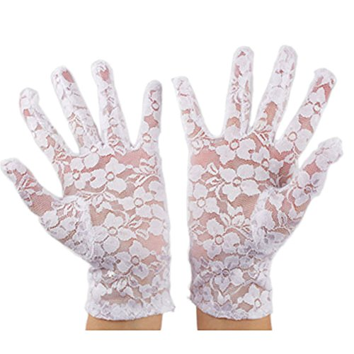 vintage white gloves - 7