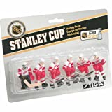 NHL Detroit Red Wings Table Top Hockey Game Players Team Pack