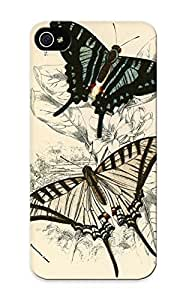 New Style QueenVictory Butterflies Premium Tpu Cover Case For Iphone 5/5s