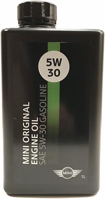 Amazon.com: Aceite de motor SAE 5W-30, gasolina, 1 litro ...