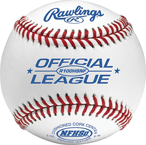 Rawlings NFHS Stamped Official League Baseball (Pack of 12) by Rawlings
