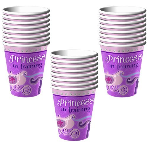 Disney Junior Sofia the First Party 9 oz. Paper Cups - 24 Guests -
