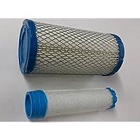 Air Filter For Kohler 2508302S, 25 083 02-S (outer) Plus 2508303S, 25 083 02-S (inner)