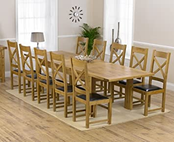 Pleasing Corona Oak Dining Furniture Extra Large Extending Dining Andrewgaddart Wooden Chair Designs For Living Room Andrewgaddartcom
