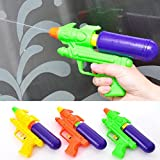 2016 Sealive 3 Pieces Newest 19.511Cm Colorful Kids Summer Water Squirt Pistol Beach Water Gun Swim Toy,Eco-Friend Material,For Boys Or Girls 1 To 10 Years Children