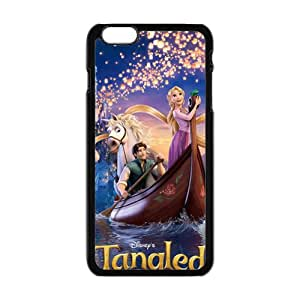 Frozen Romantic Kristoff and Anna Cell Phone Case for Iphone 6 Plus
