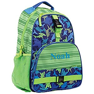 GiftsForYouNow Shark Personalized Kids Backpack by GiftsForYouNow
