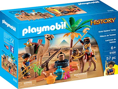 Used, Playmobil Tomb Raiders' Camp Building Set for sale  Delivered anywhere in Canada