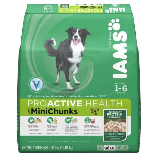 IAMS PROACTIVE HEALTH Adult MiniChunks Dry Dog Food 30 Pounds