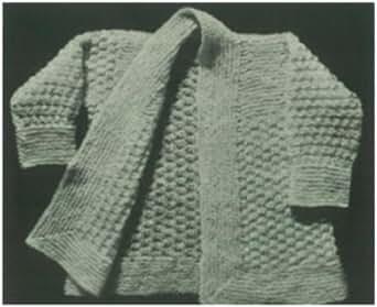Kindle Knitting Patterns : #1607 JASMINE SACQUE VINTAGE KNITTING PATTERN - Kindle edition by Princess of...