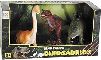 DQTOYS Dinosaurios Pack de 3 Figuras: Amazon.es: Juguetes y juegos