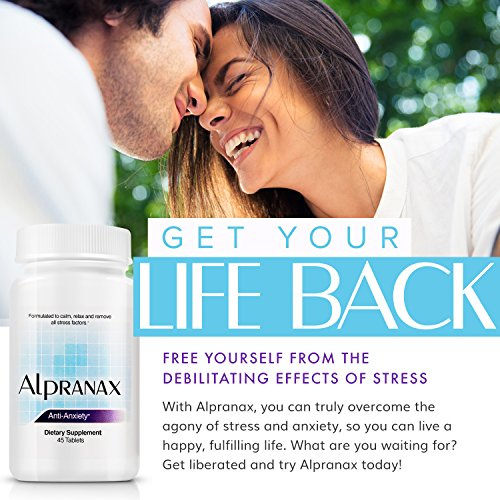 Avinol PM Bundle with Alpranax - Natural Sleep Aid with Melatonin and 5-HTP + Herbal Relaxation and Stress Relief Supplement - Reduce Stress and Get Deep Restful Sleep - (2 Items) by Avinol PM and Alpranax (Image #6)