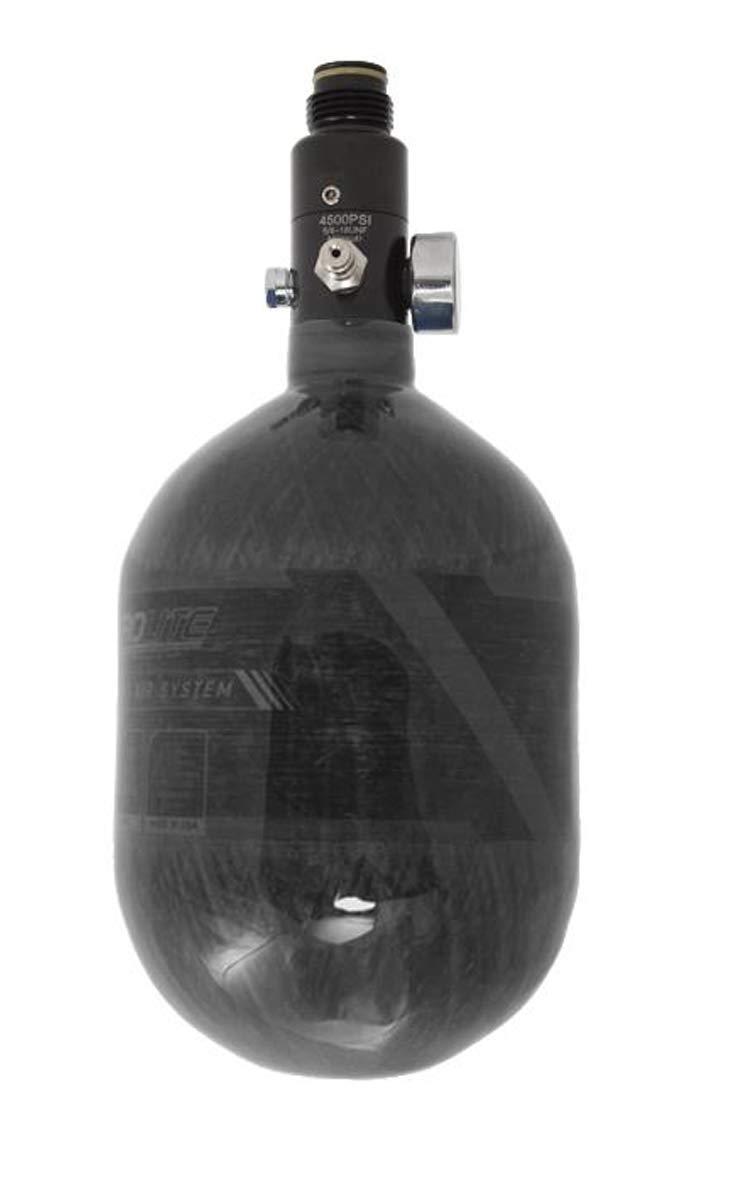 HK Army Aerolite Carbon Fiber HPA Paintball Tank Air System - 48ci / 4500psi (Smoke) by HK Army