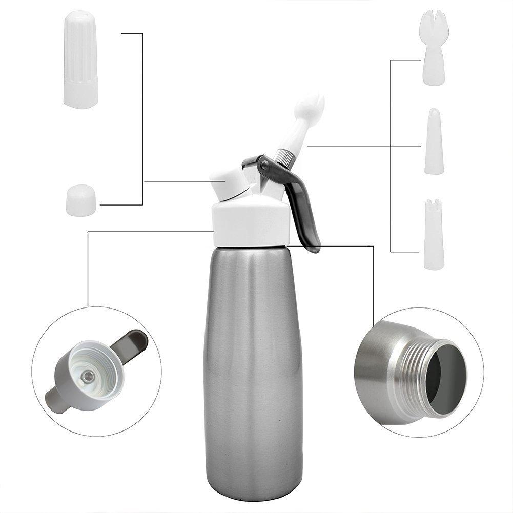 angker-professional dispensador de nata montada (1 pinta): Amazon.es: Hogar