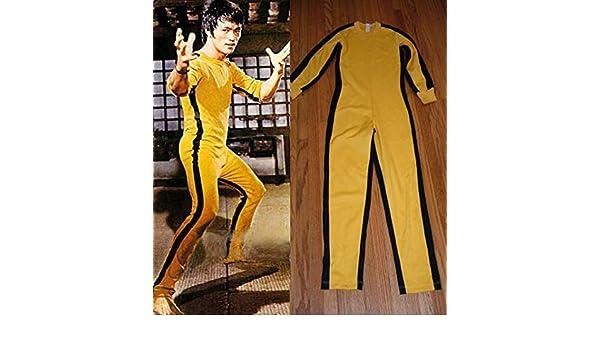 Solid Fitness Marca Bruce Lee Juego de la Muerte/Kill Bill Mono ...