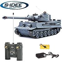 s-idee® 22002 Battle Tanque 99807 German Tiger 1:28
