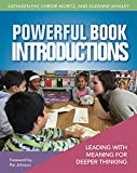 img - for Powerful Book Introductions: Leading with Meaning for Deeper Thinking book / textbook / text book