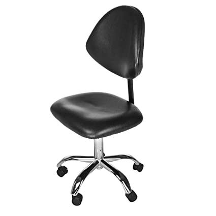 Simple office chair Wood Black Modern Simple Office Chair With Adjustable Height Backrest Ergonomic Computer Desk Chair For Home Study Amazoncom Amazoncom Black Modern Simple Office Chair With Adjustable Height