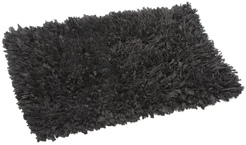 FHE Group Tissue Rug Bath Mat, 45 by 27 Inches, Black from The FHE Group