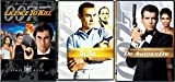 Triple Edition James Bond 007 Dr. No Sean Connery & Licence to Kill Timothy Dalton DVD Die Another Day Pierce Brosnan Action Feature Bundle