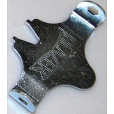 Blazer Athletic 3-Way Key Wrench