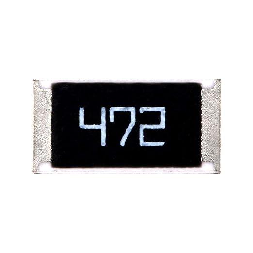 100Pcs Resistor 4K7 Ohm 0805 Smd Rohs sx