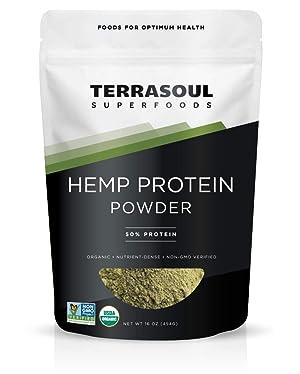 Terrasoul Superfoods Hemp Protein Powder