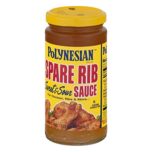 Sweet Sour Spare Ribs - Polynesian, Sauce, Spare Rib, Size - 10 OZ, Pack of 3