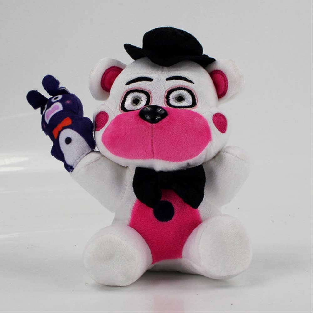Missyou Five Nights At Freddy Plush Toy18Cm, Funtime Freddy Bear Fazbear Funtime Foxy Mangle Ballora Ennard Circus Baby Peluche Muñecas De Peluche 18Cm 4
