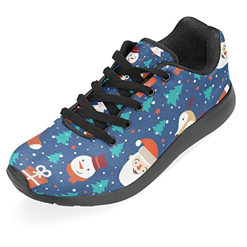 Interestprint Femmes Jogging Running Sneaker Léger Aller Facile À Pied Casual Confort Sportif Chaussures De Course Multi 20