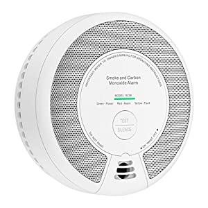 X-Sense Combination Smoke & Carbon Monoxide Alarm Detector, 10-Year Battery-Operated Fire and CO Alarm, SC06