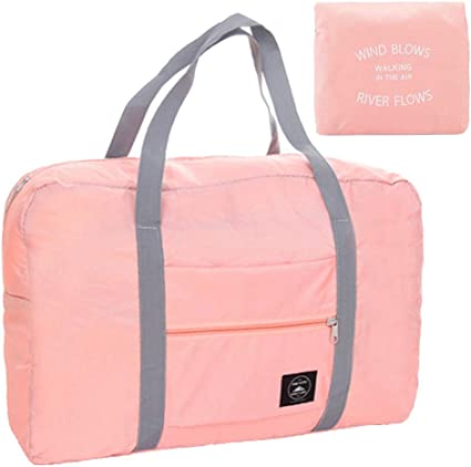 Travel Luggage Duffle Bag Lightweight Portable Handbag LOVE Large Capacity Waterproof Foldable Storage Tote