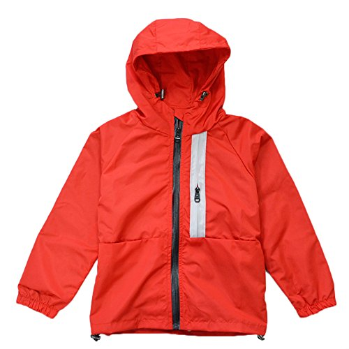 KISBINI Big Boys Kids Hoodies Rain Coat Zip Jacket Spring Dustcoat Windbreakers