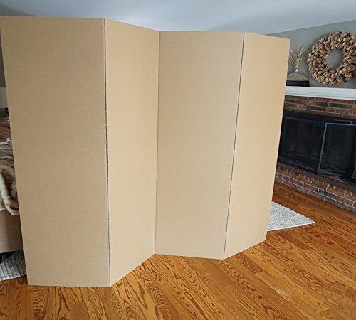 DormCo Privacy Room Divider (2-Pack) - Kraft (Best Decorated Dorm Rooms)