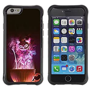 Paccase / Suave TPU GEL Caso Carcasa de Protección Funda para - Cup Witch Halloween Mysterious Evil - Apple Iphone 6 PLUS 5.5