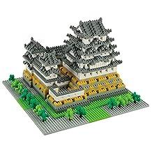 Nanoblock Architecture - Himeji Castle (Non-lego) - 2253 Pieces (japan import)