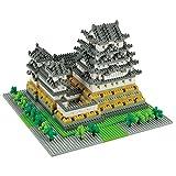 Nanoblock Architecture - Himeji Castle (Non-lego) - 2253 Pieces