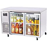 Turbo Air (JUR-48-G) - 48 Glass Door Undercounter Refrigerator - J Series