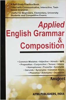Applied English Grammar amp: Composition