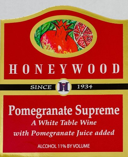 Honeywood Winery Pomegranate Supreme