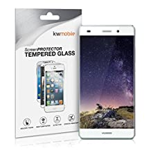 kwmobile Screen protector tempered glass for Huawei P8 Lite (2015) in crystal clear - Premium quality