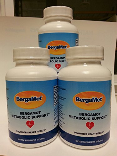 BERGAMET TM CHOLESTÉROL & METABOLIC SOUTIEN AGRUMES BERGAMOTE EXTRAIT 550 mg (38%) (180 comprimés)