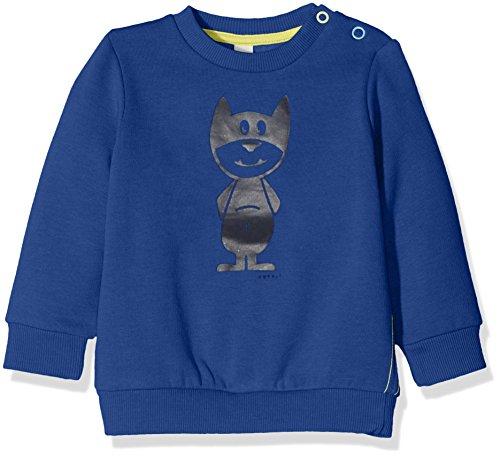 Esprit Kids Baby-Jungen Sweatshirt Sweat Shirt, Blau (Royalblau 410), 86