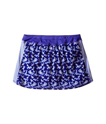 Under Armour Kids Girl's Printed Skort (Big Kids) Purple Ice Skirt ()