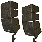 Earthquake Sound Speaker with Stands, 4 x 4