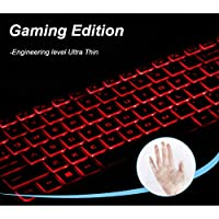 FORITO Keyboard Cover Compatible Acer Gaming Laptop Acer Predator Helios 300 /Acer Nitro 5 Gaming Laptop/Acer Aspire VX 15 VX5-591G/Acer Aspire V 17 Gaming Edition VN7-793G (HD Gaming Edition)