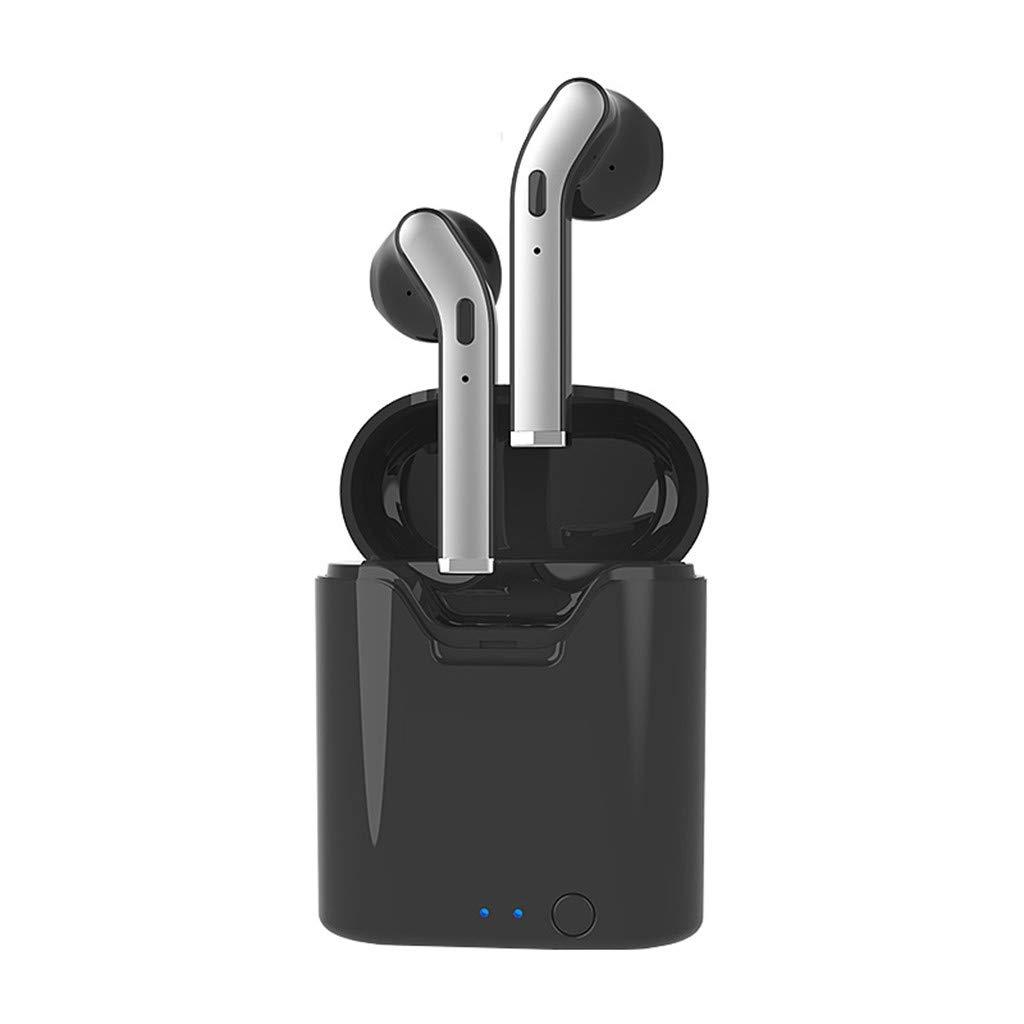 Barlingrock Bluetooth Earphone Wireless Earbud & in-Ear Headphones TWS Wireless Earphones in-Ear Headphones Headsets 5.0 Version 24M Transmission