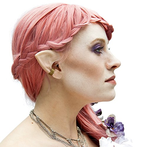Aradani Costumes Small Elf Ears - Ear Tips (Cuff Ear Goddess)