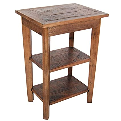 Charmant Alaterre Furniture Revive   Reclaimed 2 Shelf End Table   Natural