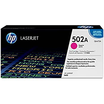 HP 502A (Q6473A) Magenta Original LaserJet Toner Cartridge